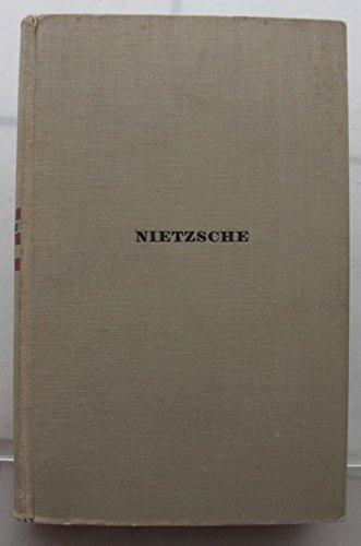 Friedrich Nietzsche Werke in zwei Bänden, Erster Band
