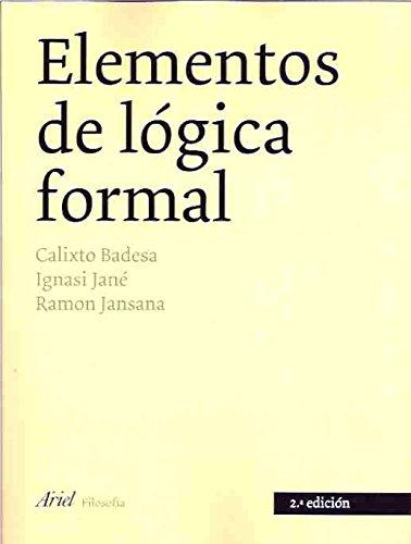 Elementos de lógica formal (Ariel Filosofía)