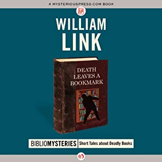 Death Leaves a Bookmark audiobook cover art