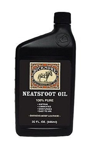 Bickmore 100% Pure Neatsfoot Oil - Leather Softener/Conditioner 32 oz