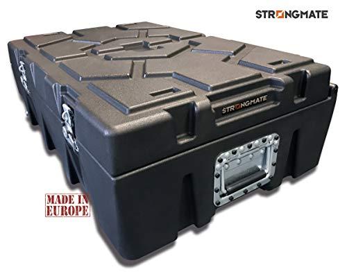 STRONGMATE koffertrolley model M.HD1-L dubbelwandig, extra robuust voor transport en bescherming van professionele apparaten. 87 x 58 x 31 cm. Inhoud: 88 liter.