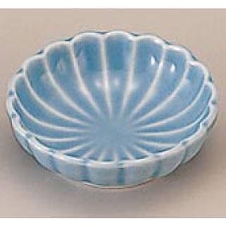 珍味入れ用陶器菊豆皿 トルコ 1-666-1 B