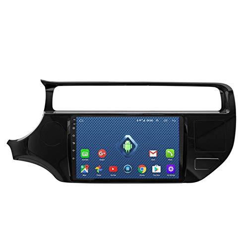 KLL Double DIN Autoradio para Kia Rio 2015-2016 Pantalla Táctil HD 1080P Soporte Radio FM/RDS DSP Reproductor MP5 Controles del Volante Salida De Video(con Cámara Trasera),WiFi,1+16G