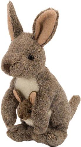Wild Republic Kangaroo with Joey Plush, Stuffed Animal, Plush Toy, Gifts for Kids, Cuddlekins 8 Inches