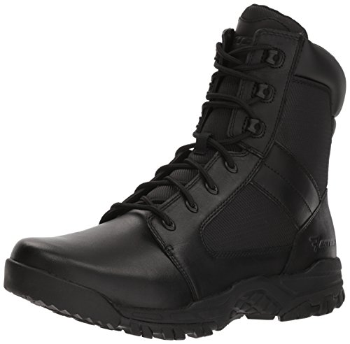 Bates Men's Seige 8 Hot Weather Side Zip Military and Tactical Boot, Black, 10.5 M US