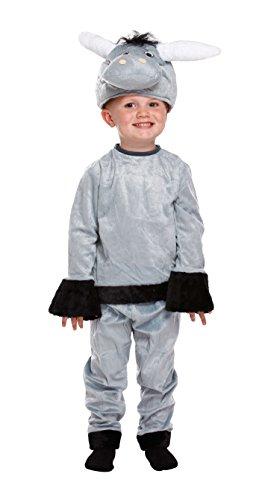 Henbrandt Disfraz de Navidad de Burro Infantil Disfraz de Animal Niños Niños Edad 3 años Niño pequeño Nuevo