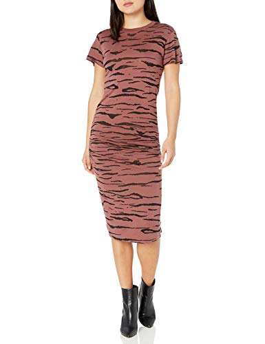 Monrow Women's Tier Crew Dress