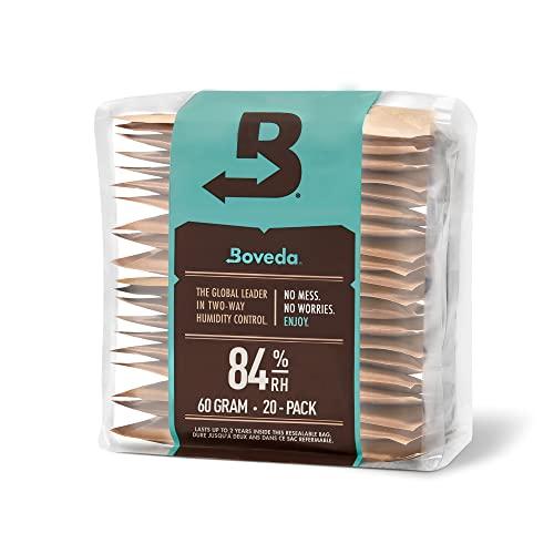 Boveda 葉巻用 84-RH 2-ウェイ 湿度 コントロール ヒュミドール 調味料 サイズ 60 使用 25 葉巻 ヒュミドール ホールド 適切 季節 木材 ヒュミドール 14 日 20-カウント レクロタブル バッグ 20