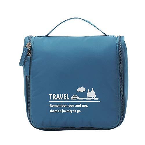 Hanging Travel Toiletry Bag Handle Zipper...