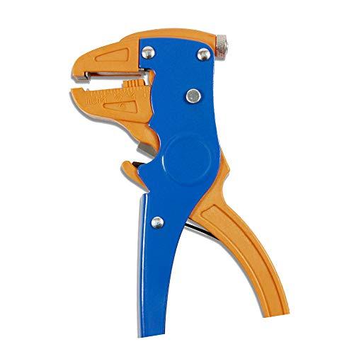 DXIA Pelacables automático y cortador, Alicate Pelacables, Automático Multifuncional Ajuste, para Pelar Líneas de 0.25-6mm, en 1 para reparaciones electrónicas y automotrices