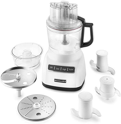 KitchenAid (RENEWED) CERTIFIED REFURBISHED RKFP0922WH 9-Cup Food Processor with Exact Slice System - White