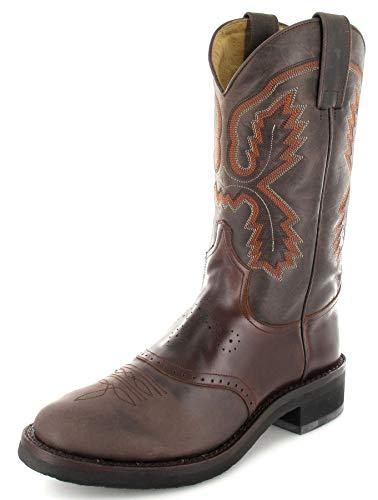 Sendra Boots Damen Cowboy Stiefel 5357 Westernreitstiefel Braun 38 EU