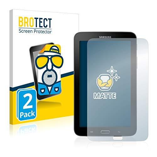 BROTECT 2X Entspiegelungs-Schutzfolie kompatibel mit Samsung Galaxy Tab 3 (7.0) Lite SM-T113 Displayschutz-Folie Matt, Anti-Reflex, Anti-Fingerprint