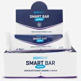 Body & Fit Smart Bar Crunchy Chocolate con cacahuete y caramelo 540 gramos (12 barritas)