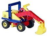 Lena 04151 - Aktiv Bagger, ca. 35cm, mit beweglicher Lena Spielfigur, Baustellen...