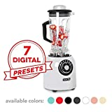 Dash, Sm with Stainless Steel Blades + Digital Display for Coffee Drinks, Frozen Cocktails,...