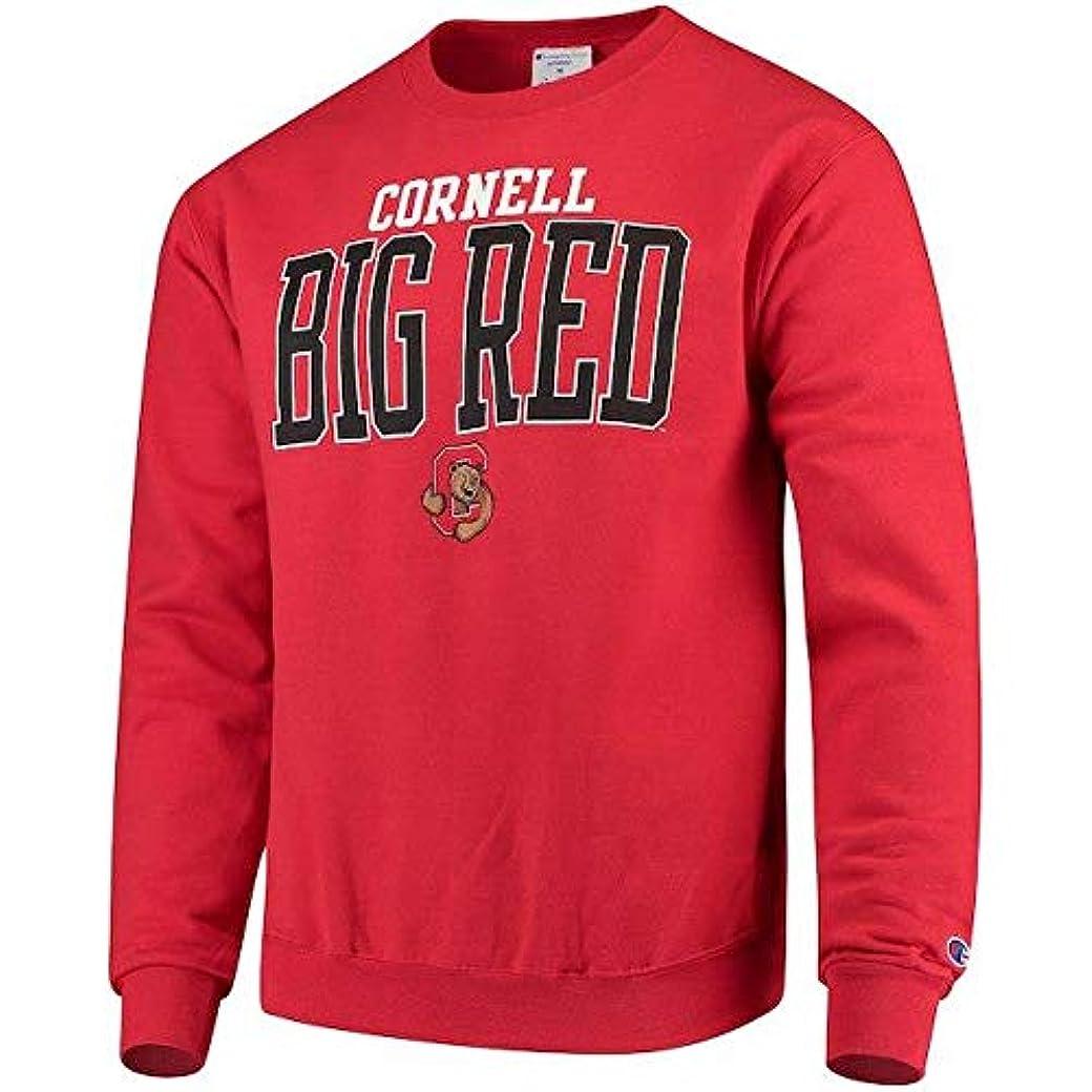 払い戻し復讐はずChampion Champion Cornell Big Red Red Eco Powerblend Expansion Pullover Sweatshirt スポーツ用品 【並行輸入品】