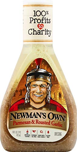 Newman's Own Parmesan & Roasted Garlic Salad Dressing, 16-oz.