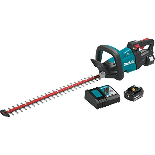 Makita XHU07T 18V LXT Lithium-Ion Brushless Cordless 24' Hedge Trimmer Kit (),Teal