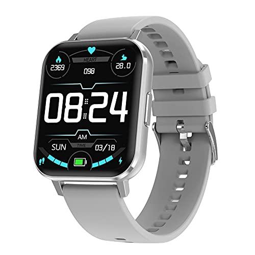 bulingbuling Pulsera Smart Test Aptitud del Reloj del perseguidor Inteligente DTX Banda de frecuencia cardíaca SmartWatch Deportes Hombres Mujeres Blanco