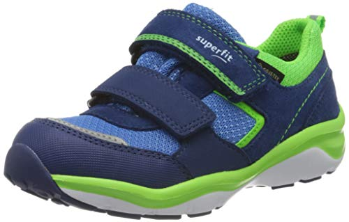 Superfit Jungen SPORT5 Sneaker, Blau (Blau/Grün 81), 25 EU