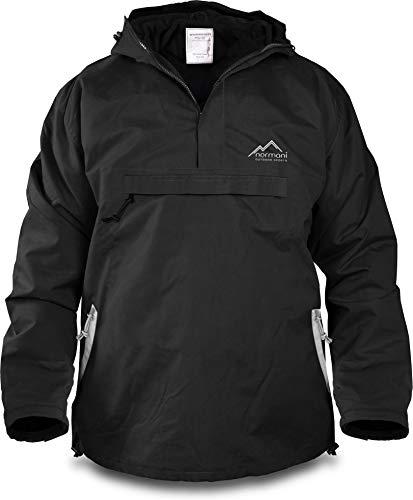 normani Winddichte Funktions-Jacke für Damen und Herren von S-4XL Farbe Black/Beige Größe S
