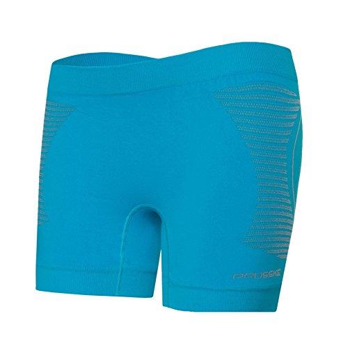 Prosske fitness sport short dSHS1 respirantes L Turquoise - Turquoise
