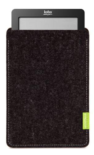 WildTech Sleeve für Kobo Aura One Hülle Tasche - 17 Farben (Handmade in Germany) - Anthrazit