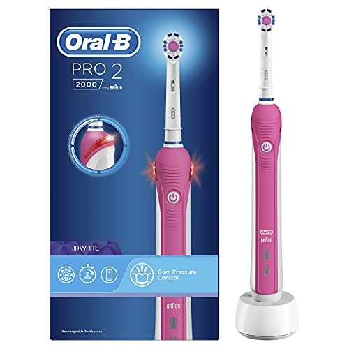Oral-B Pro 2 2000W 3D White Electric Rechargeable...