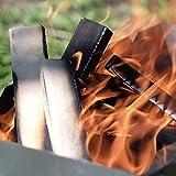 Leña para Chimenea - Leña Secada en Horno para Estufas y Barbacoas - Encendedores ECO Incluidos en el Interior