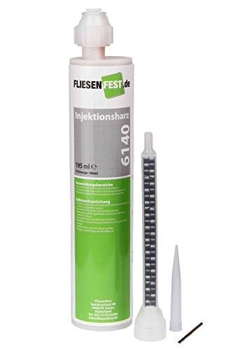 Fliesenfest Injektionsharz 6140, Reparaturkleber für lose und hohle Fliesen