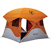 Gazelle 22272 T4 Pop-Up Portable Camping Hub Overlanding Tent, Easy Instant Set Up in 90 Seconds, 4 Person
