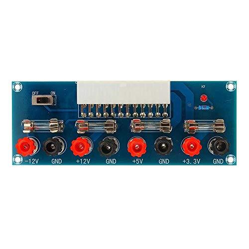 OGUAN Módulo de entrada de alimentación 5pcs XH-M229 Computadora de Escritorio chasis Fuente de alimentación de alta eficiencia de transferencia de salida del módulo ATX Power Board módulo de terminal