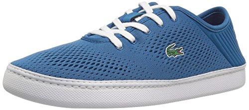 Lacoste Women's L.ydro Lace Sneakers,Dkblu/Wht textile,10 M US