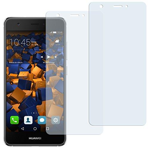 mumbi Schutzfolie kompatibel mit Huawei Nova Folie klar, Bildschirmschutzfolie (2x)