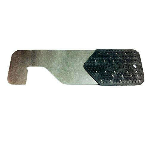 Tarjeta de apertura negra para puertas metalicas y cortafuegos