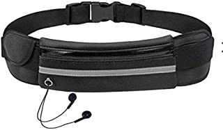 Sport Waist Bag for Man/Women,Aminery Running Belt Waist Pack - Water Resistant Runners Belt Fanny Pack for Hiking Fitness...