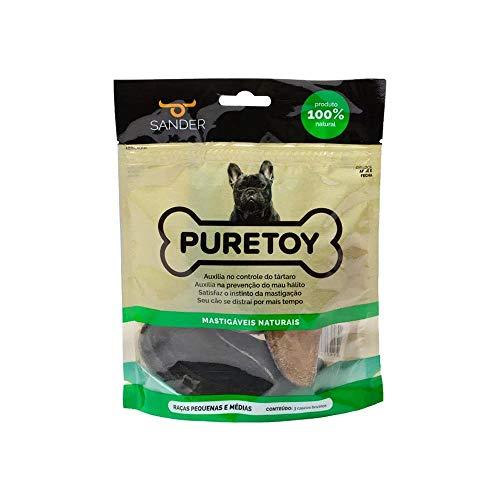 Kit Casco de Boi com 3 unidades 100% Natural -Puretoy