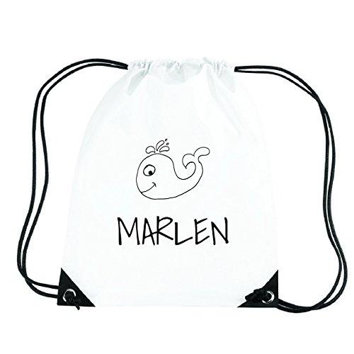 JOllipets Marlen Turnbeutel Sport Tasche PGYM5725 – Design: Wal