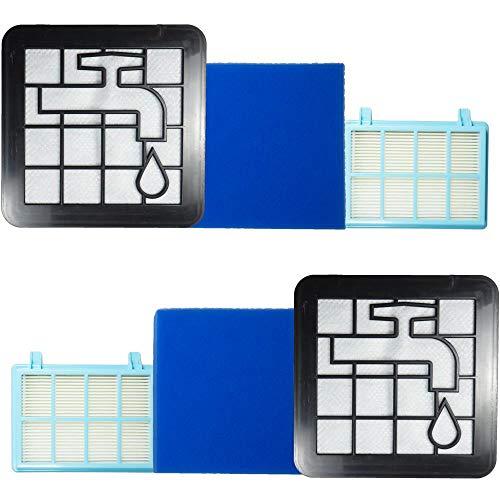 Anwor 2 Pack Zubehör/Filter für Philips Filter FC8010/01, Ersatzfilter für Philips PowerPro Compact & Active FC9330-FC9334, FC9350-FC9353, FC9555-FC9556, Zubehör/Filter für PowerPro Active FC9571