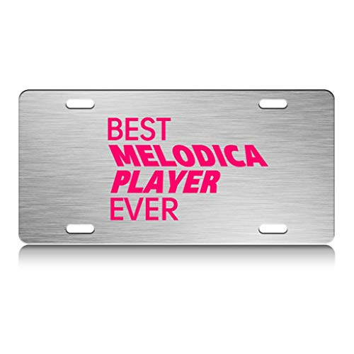 Custom Brother - Best Melodica Ever Ch. Decorative Steel Auto SUV Tag, License Plate