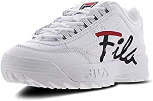 Fila Disrupter 2 Prm Womens Lace Up Chunky Sole Platform In White