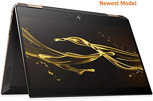 "HP Spectre Touch x360 13-ap000 Poseidon Blue/Gold Convertible 8th Gen Quad Core Intel i7 up to 4GHz 16GB 512GB SSD 13.3"" FHD Gorilla Glass (Renewed)"