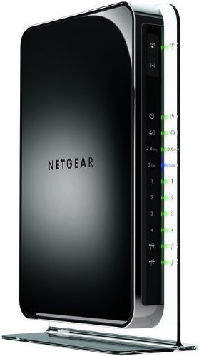 Netgear WiFi Dual Band Gigabit Router (WNDR4500-100NAS) (Renewed)