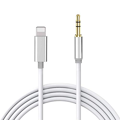 Cable Auxiliar para iPhone 11,Cable Auxiliar Coche iPhone Compatible con iPhone 11/X/XR/XS...