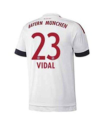 FC Bayern Away Trikot Herren 2016 - VIDAL 23, Größe:2XL