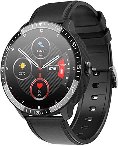 Multi Deportes Termómetro Reloj Inteligente Pulsera Deportiva Bluetooth Llamada Monitor De Ritmo Cardíaco Hombres Mujeres Smartwatch-B