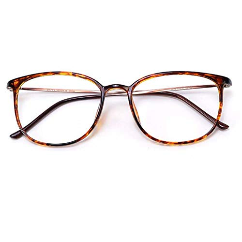 Ultra-Light Vintage leesbril, Tr-90 Frame Spring brillen Block Blue Light Reader,Mixed color,+3.5