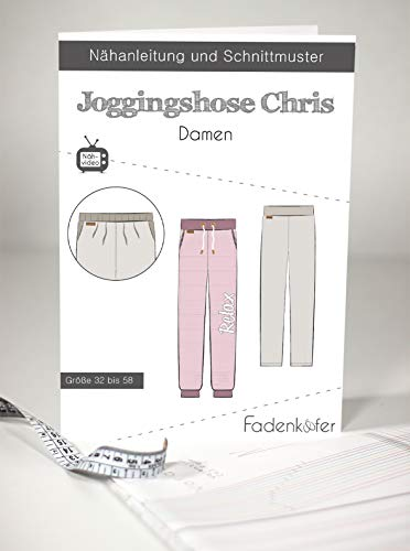 Schnittmuster und Nähanleitung - Damen Joggingshose - Chris