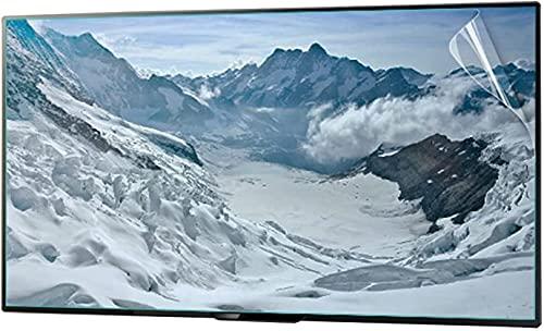 VTAMIN HD, LCD LED Pantalla de Pantalla Película Protectora Compatible con 32-75 Pulgadas TELEVISOR Monitor Anti Azul Claro aliviega la película Anti Rayada de la Fatiga, sin Huellas Dactilares, 49in